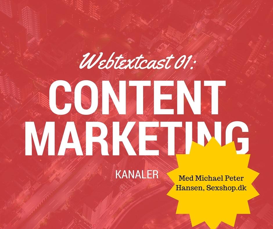 Sådan opbyggede vi content marketing kanaler på sexshop.dk