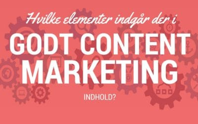 Sådan skaber du godt indhold til content marketing